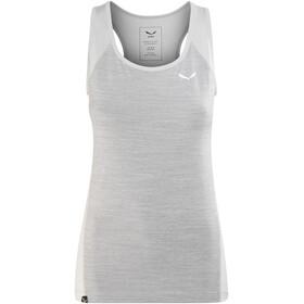 Salewa Pedroc 2 Dry Naiset Hihaton paita , harmaa